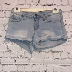 YMI Distressed Cutoff Denim Jean Shorts